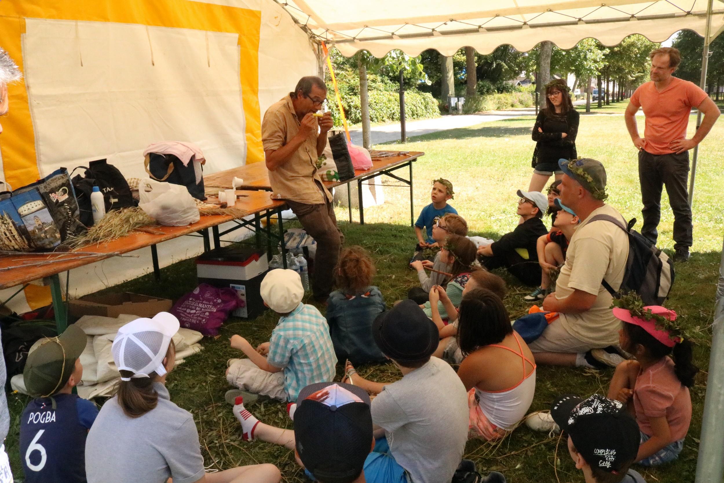 Du 2 au 5 juillet 2019 s'est déroulée la tournée des ʺ Musiques vertes et bricoléesʺ avec l'artiste Jean-Yves Bardoul pour les enfants de l'Adapei de l'Orne