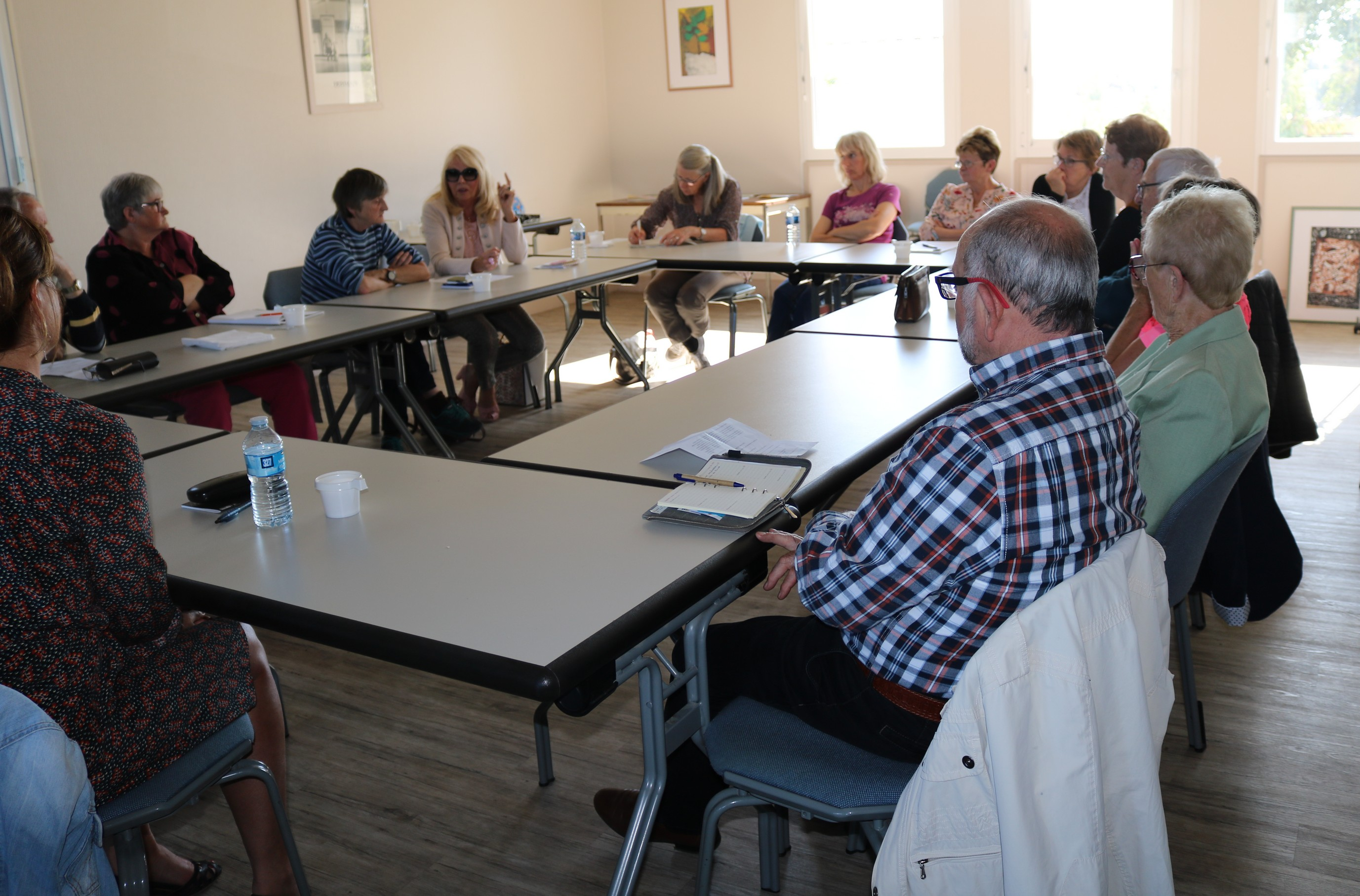 Jeudi19 septembre 2019 : lancement du groupe de parole de pair-aidance au sein de l'Adapei de l'Orne