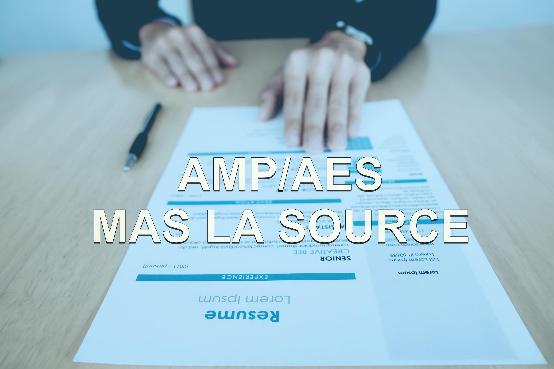 offre d'emploi AMP/AES