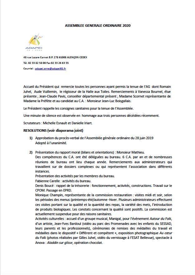 projet PV AG 2020