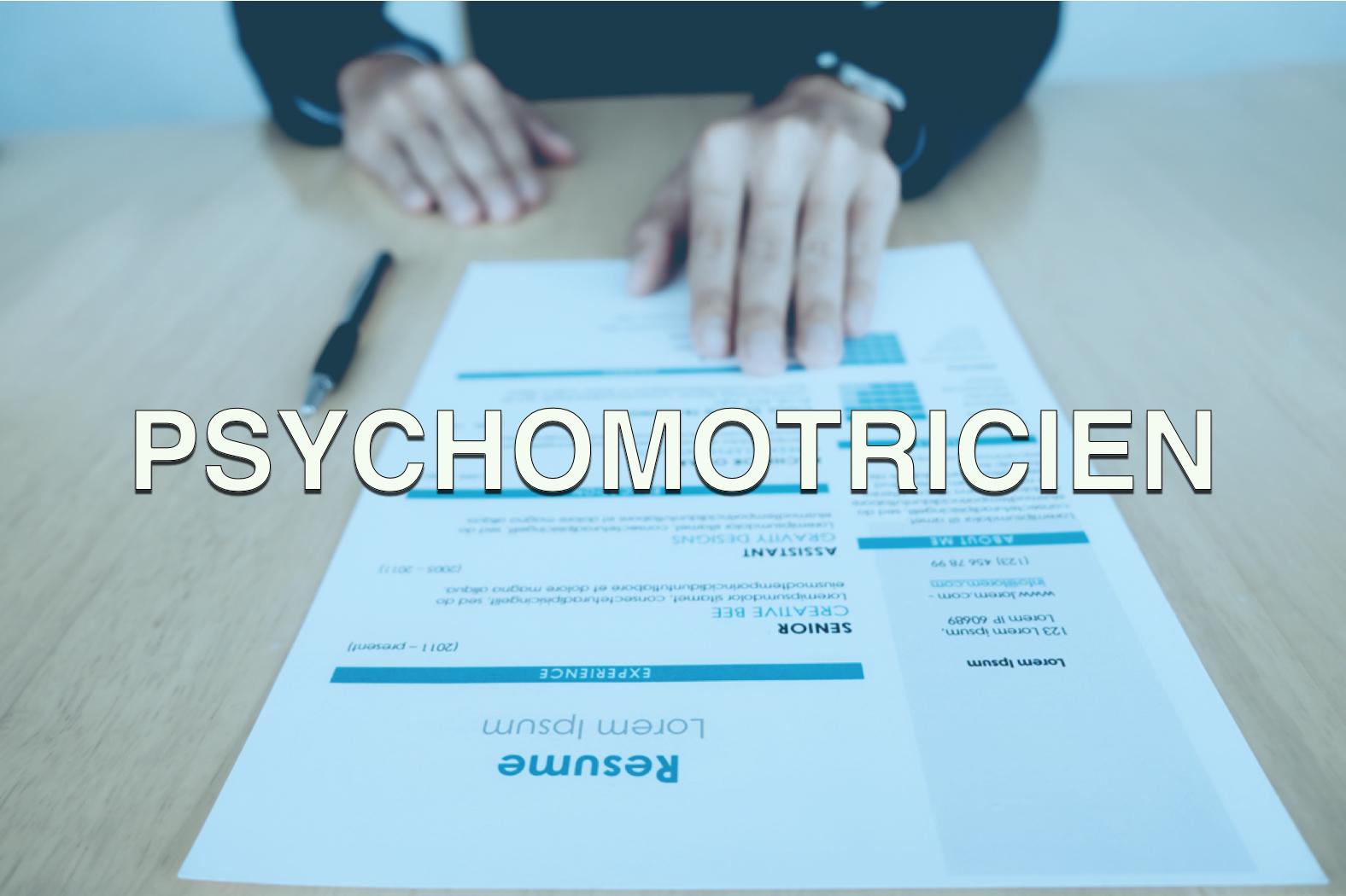 Offre d'emploi Psychomotricien