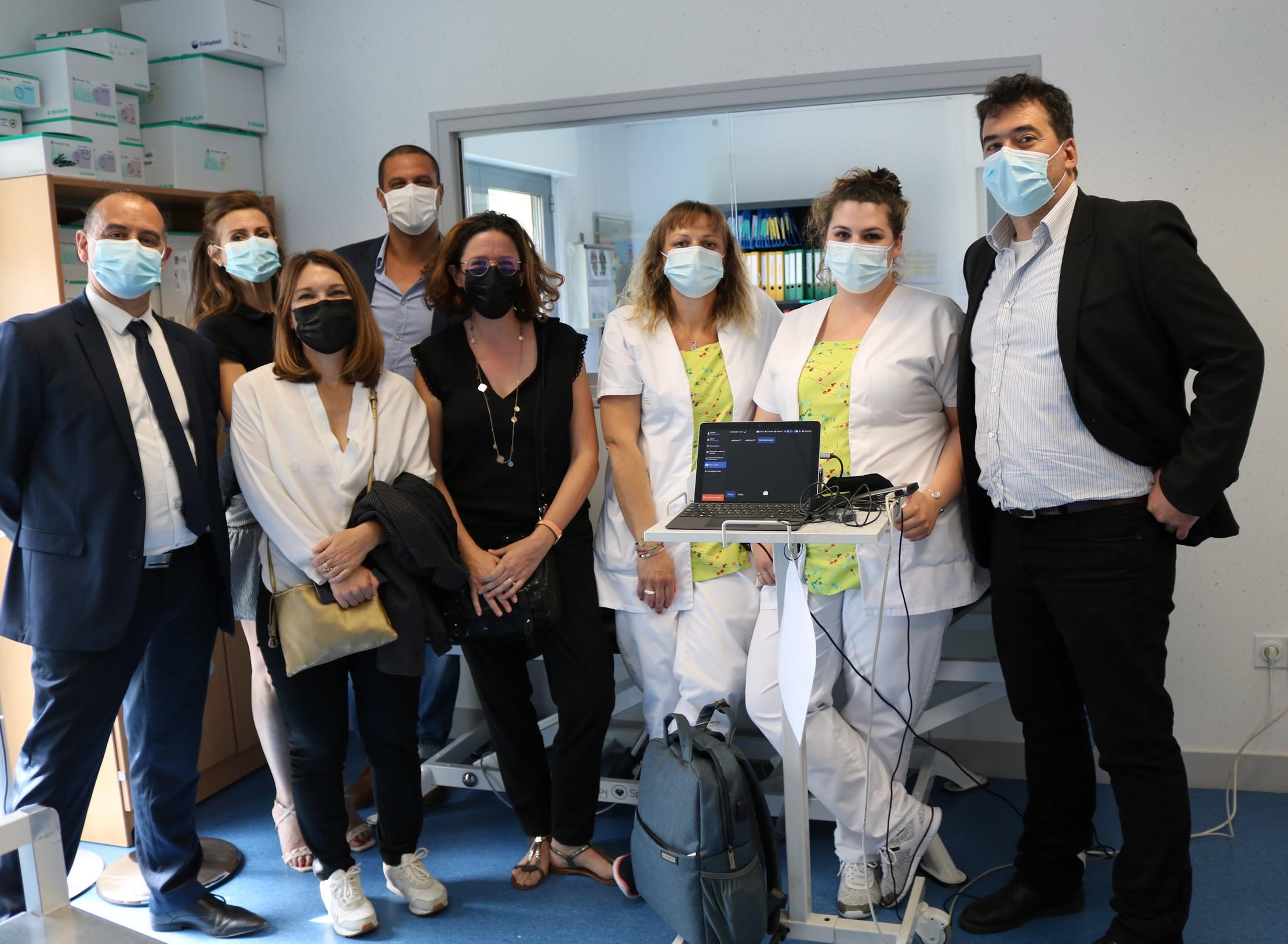 L'Adapei de l'Orne expérimente la télémédecine avec Docs On The Road